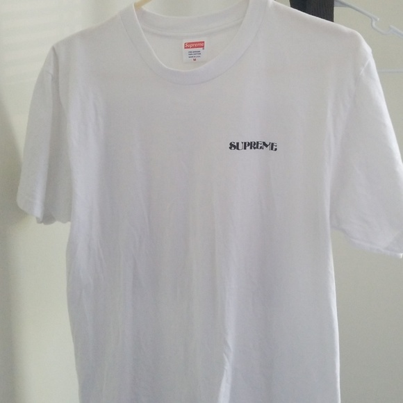 supreme t shirt back